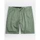 VOLCOM Frickin Drifter Green Mens Shorts
