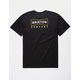 BRIXTON Wedge Black Mens T-Shirt