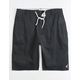 LRG Choppa Black Mens Shorts