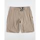 O'NEILL Reserve Khaki Mens Hybrid Shorts