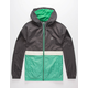 VOLCOM Ermont Mint Mens Windbreaker Jacket