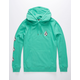 VOLCOM Deadly Stone Mint Mens Hoodie