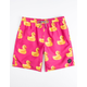 NEFF Ducky Berry Mens Hot Tub Volley Shorts