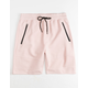 BROOKLYN CLOTH Intertech Baby Pink Mens Shorts