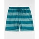 CYA Denver Stripe Blue Mens Sweat Shorts