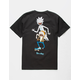 PRIMITIVE x Rick And Morty Classic P Skate Black Mens T-Shirt