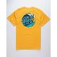 SANTA CRUZ Wave Dot Gold Mens T-Shirt