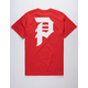 PRIMITIVE Dirty P Red Mens T-Shirt