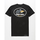 SALTY CREW Fly By Black Mens T-Shirt