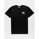 SANTA CRUZ Wall Hand Black Mens T-Shirt