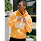 ADIDAS Solid BB Gold Mens Hoodie