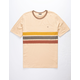BRIXTON Shield Cream Mens T-Shirt