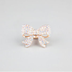 FULL TILT Rhinestone Bow Stretch Ring
