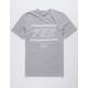 FOX Midway Airline Gray Mens T-Shirt