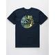 ELEMENT Scrolls Navy Mens T-Shirt