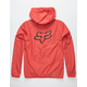 FOX Attacker Red Mens Windbreaker Jacket