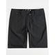 FOX Essex Tech Black Mens Hybrid Shorts