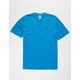 RUSSELL ATHLETIC Baseliner Blue Mens T-Shirt