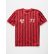 BRIXTON Aston Red Mens Jersey
