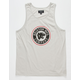 BRIXTON Forte Light Gray Mens Tank Top