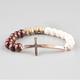 FULL TILT Mixed Bead Cross Bracelet