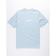 NIKE SB Stripe AOP Light Blue Mens T-Shirt