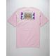 PRIMITIVE x Rick And Morty Rick Hypno Eyes Pink Mens T-Shirt
