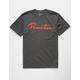 PRIMITIVE Nuevo Script Charcoal Mens T-Shirt