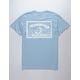 SALTY CREW Lucky Light Blue Mens T-Shirt