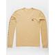 QUIKSILVER Jammer Light Gold Mens T-Shirt