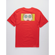 PRIMITIVE x Rick And Morty Morty Hypno Eyes Red Mens T-Shirt