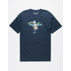 PRIMITIVE x Rick And Morty Nuevo Skate Navy Mens T-Shirt