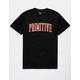 PRIMITIVE Collegiate Arch Black Mens T-Shirt