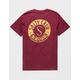 SALTY CREW Stowaway Burgundy Mens T-Shirt