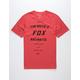 FOX Victory Red Mens T-Shirt