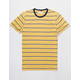 RETROFIT Bert Stripes Gold Mens T-Shirt