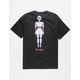 PRIMITIVE x Rick And Morty Gwendolyn Black Mens T-Shirt