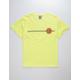SANTA CRUZ Classic Dot Neon Yellow Mens T-Shirt
