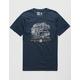 HIPPYTREE Roadtrip Navy Mens T-Shirt