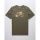 NIKE SB Camo Logo Olive Mens T-Shirt