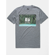 HIPPYTREE Lakepine Heather Gray Mens T-Shirt