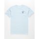 LRG Logo Plus Light Blue Mens T-Shirt