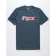 FOX Flag Head Mens T-Shirt