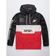NEON RIOT NASA Color Block Mens Anorak Jacket