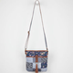 Patchwork Denim Crossbody Bag