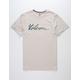 VOLCOM Fast Script Oatmeal Mens T-Shirt