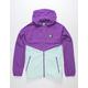 ADIDAS Dekum Packable Active Purple & Clear Mint Mens Windbreaker Jacket