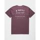 O'NEILL No Bad Vibes Burgundy Mens Pocket Tee