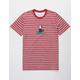 NEON RIOT Felix Stripe Mens T-Shirt