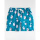 CYA Pinky Flamingo Mens Volley Shorts